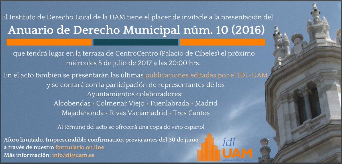 Idl Uam On Twitter Presentación Del Anuario De Derecho