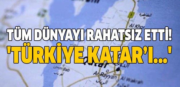 Tüm dünyayı rahatsız etti! 'Türkiye Katar'ı...'  https://t.co/FtFYz0u1...
