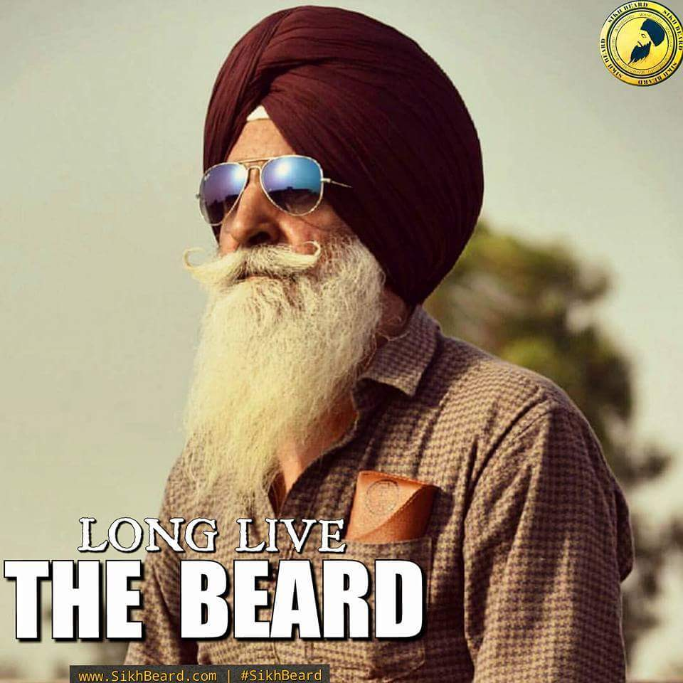 I once asked my Dad if i will have same #BEARD as he has , He then said #lion never grow up without his mane.   —#SIKHBEARD  <br>http://pic.twitter.com/djRCUfd7OP