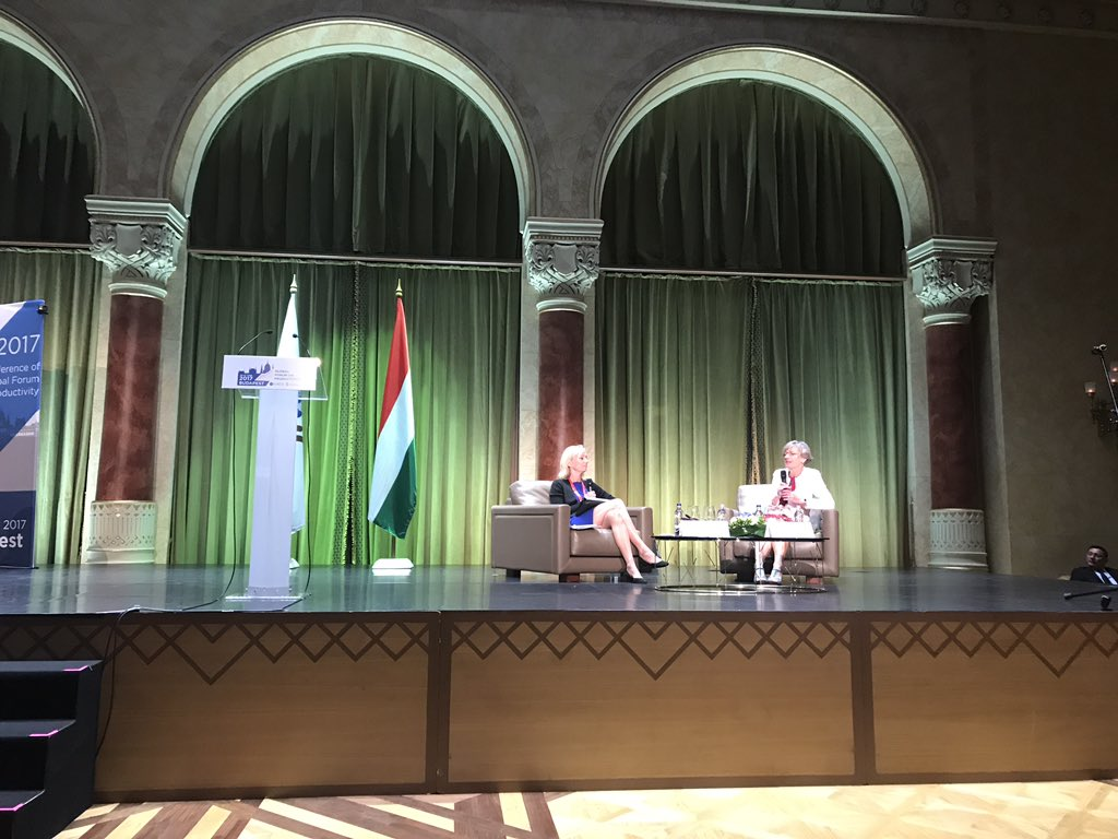 @CLMannEcon and Karolina Ekholm: We need #inclusivegrowth policies to frame #GVC diffusion in order to reap benefits for all @ GFPBudapest<br>http://pic.twitter.com/AqvKILgs2o