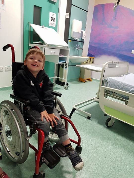 Jacob goes in for surgery today.. #afcb fans send your best wishes to @Amandabuckett and @The_DCF for today and post op. #mondaymotivation <br>http://pic.twitter.com/hoCXFtmSwt