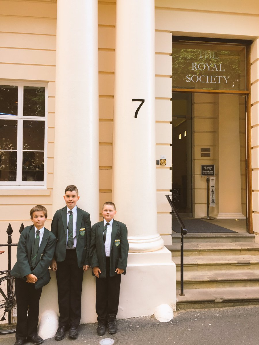 We have arrive @royalsociety for the @teentechevent. @horizon_cc_Y7 students have set their stand up in preparation for judging. #STEM #LLC<br>http://pic.twitter.com/9qnX4E0cSq &ndash; bij The Royal Society