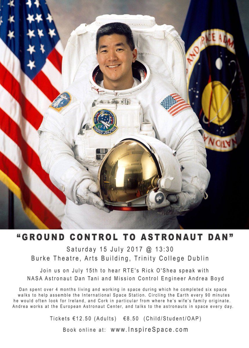Exciting July #astronautmonth #Dublin: we have @NASA astronaut, @rickoshea, #spacemovienight @tcddublin Info&amp;tkts  http:// inspirespace.com  &nbsp;  <br>http://pic.twitter.com/cO23wOWRQx