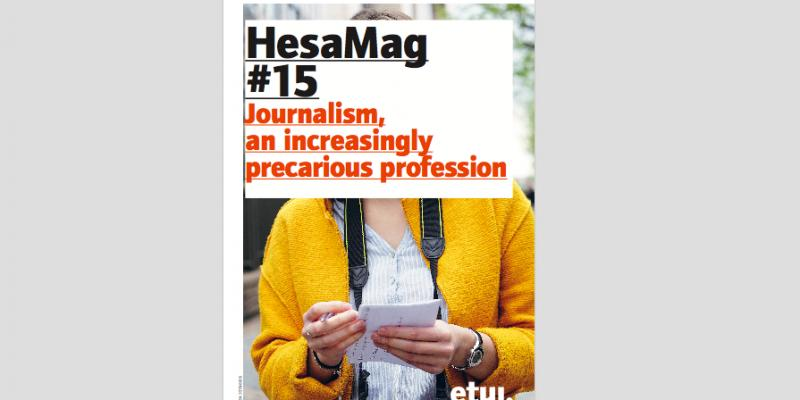 Read the @EFJEUROPE - @ETUI_org special report on precarity in #journalism:  https://www. etui.org/Topics/Health- Safety-working-conditions/HesaMag &nbsp; …  #HesaMag15<br>http://pic.twitter.com/kWcN45jkBP