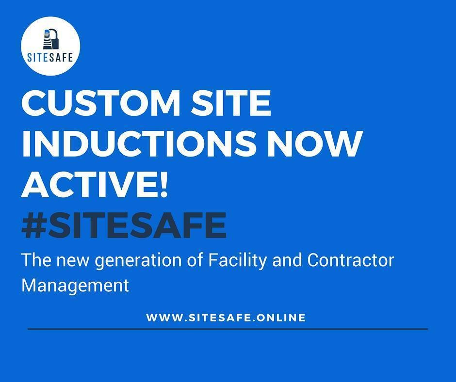 You can now create custom site Induction processes for your sites. #sitesafe #site #onsite #construction #constructionsite #property #prope…<br>http://pic.twitter.com/6M7HbW3IZv