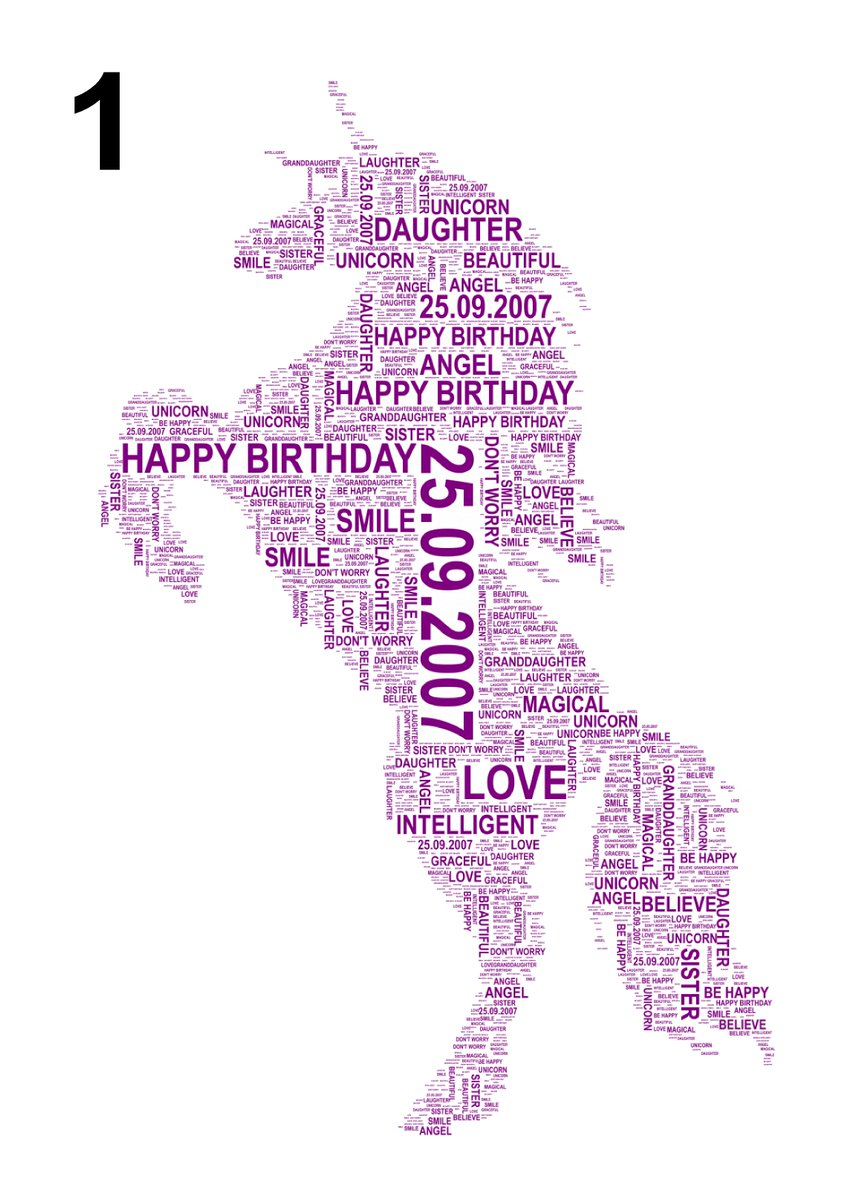 #Unicorn Fantastic Personalised print made with YOUR words #MagicalGift  http:// etsy.me/1wwJjzO  &nbsp;   #Etsy #QueenOf #ukbiz #spdc<br>http://pic.twitter.com/Wd3vJ23ce8