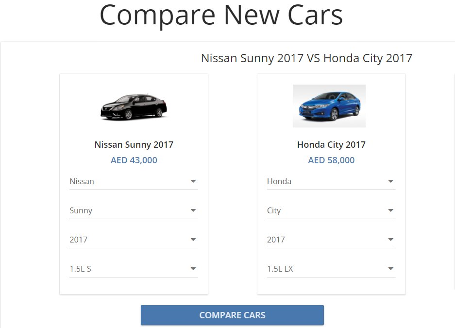 Yallamotor On Twitter Use Our Comparison Tool To Know The Difference Between Any Car The Difference Between Nissan Sunny Honda City Https T Co Nwfby759cs Https T Co Prwiofrqtj