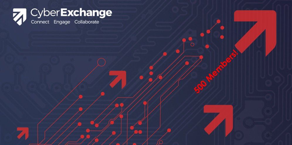 Cyber Exchange delighted to welcome 500th member - Congratulations @ISC2! UK #cybersecurity community growing fast.  https:// cyberexchange.uk.net/#/news/584  &nbsp;  <br>http://pic.twitter.com/nmcd6MlX4F