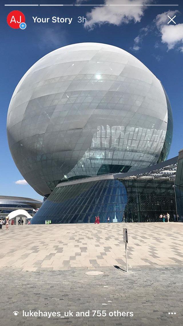 Not following the AJ on Instagram? Then you&#39;re missing @AtomikArch&#39;s tour of #expo2017 in #Astana  https://www. instagram.com/architectsjour nal/ &nbsp; … <br>http://pic.twitter.com/LTp4e5hj2j