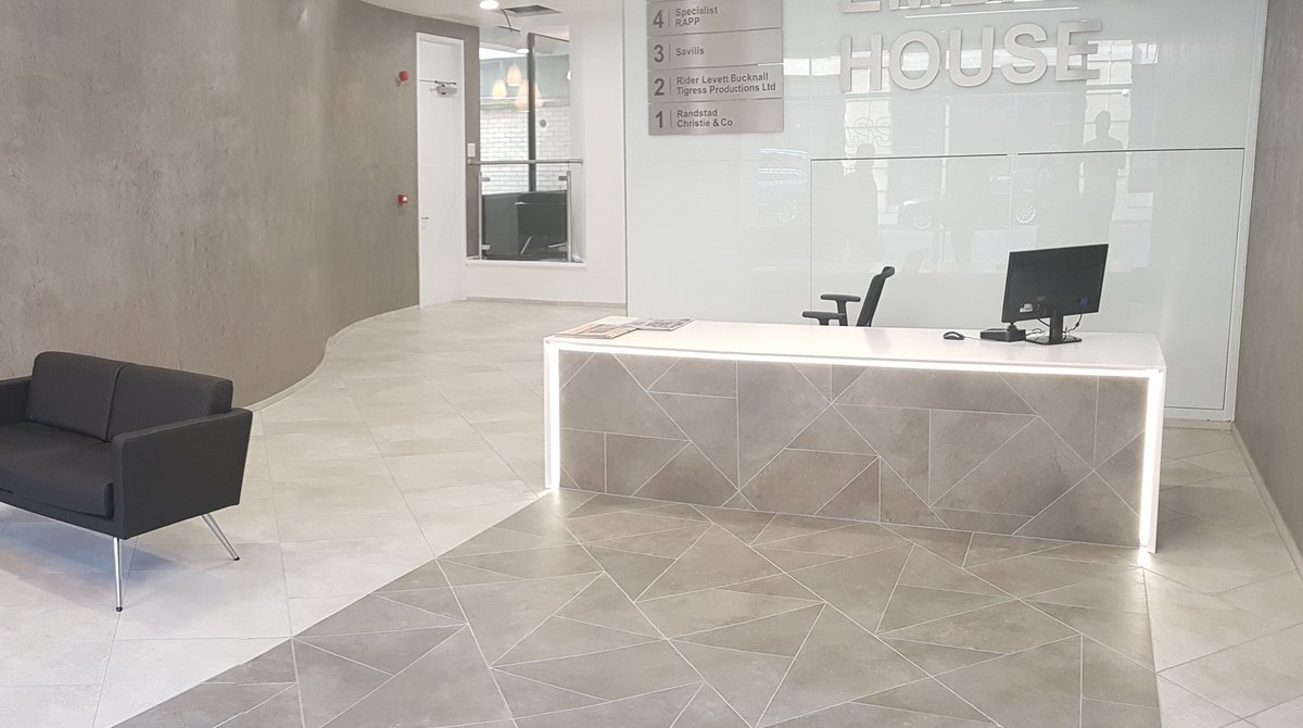Commercialfloor Hashtag On Twitter - Custom cut ceramic tile