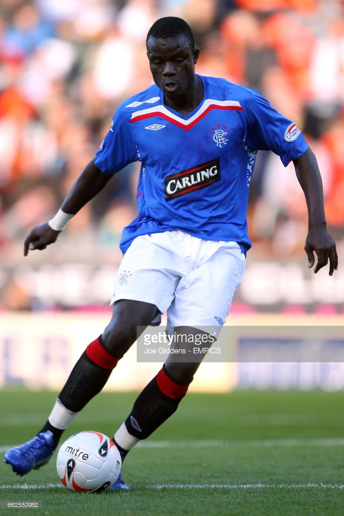 He played for the club he loved! Grew up in Dakar listening to Rangers games on Real Radio! #Senegal <br>http://pic.twitter.com/dqsOkcj9JZ