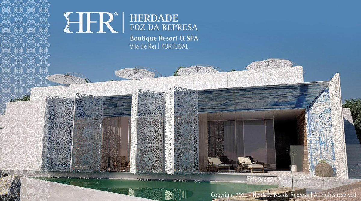 Be seduced by the charm of a Boutique Resort sized to accommodate  http://www. HFRresort.com  &nbsp;     #Travel #yoga #luxury #VIP #Portugal #HFRresort<br>http://pic.twitter.com/u7xNQZIcIN