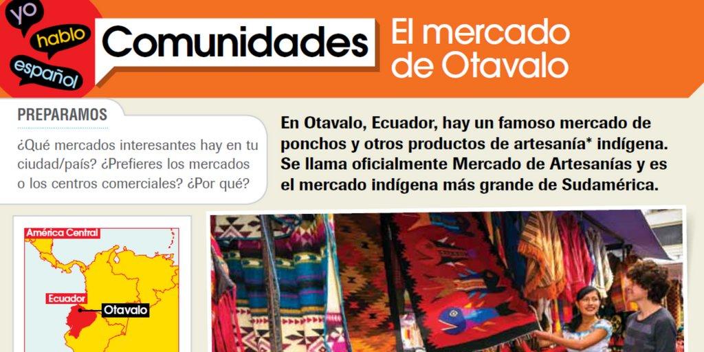 Let&#39;s go shopping at the Otavalo market! #traveltuesday #otavalomarket #ecuador #mfl #mfltwitterati<br>http://pic.twitter.com/1jucrhLUXX