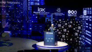 WATCH: Prime Minister Benjamin Netanyahu's remarks today at the #CyberWeek2017 conference at Tel Aviv University.