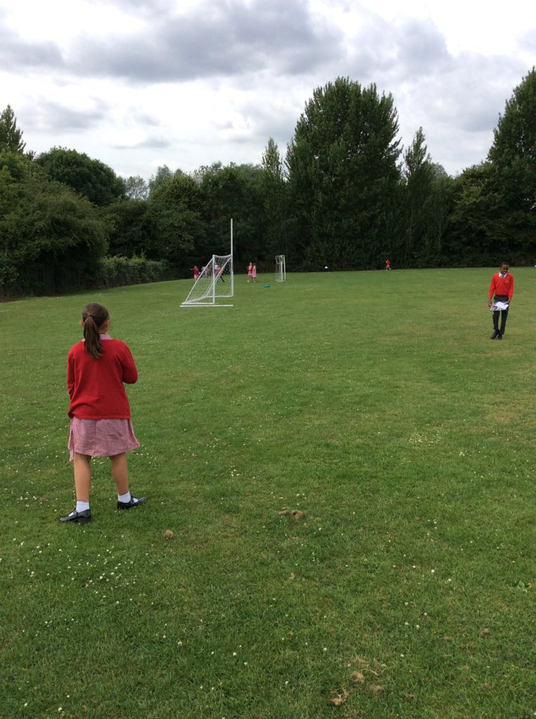 Year 4s learning about Kennings in a fun way! #outdoorlearning #English #poetry