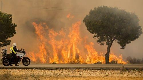 #News #Iran Forest fire in #Spain threatens renowned national park  http:// dlvr.it/PQ8bHT  &nbsp;  <br>http://pic.twitter.com/dN1g6JDBX8