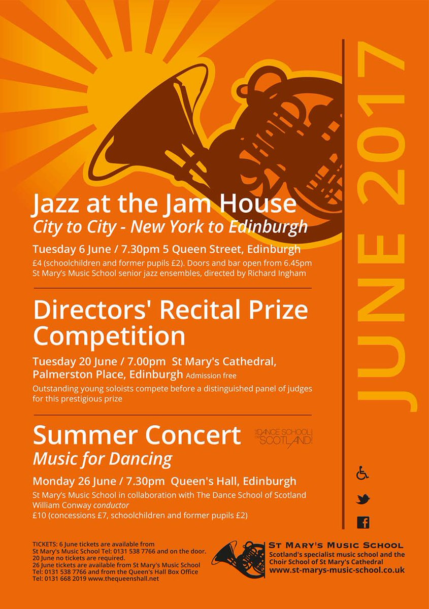 Tonight! Our Summer Concert @queens_hall 7.30pm. #Trad #Ballet #Strings #Orchestra #Choir #Edinburgh. You will be made most welcome!<br>http://pic.twitter.com/qYyd3YpJVN