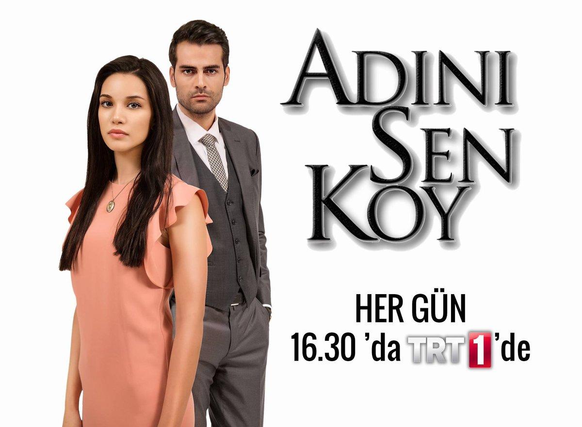 Yeniden izlemek isteyenler için sevilen dizi #AdınıSenKoy her gün 16.3...