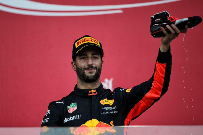 Happy 28th Birthday to winner - Daniel Ricciardo!
