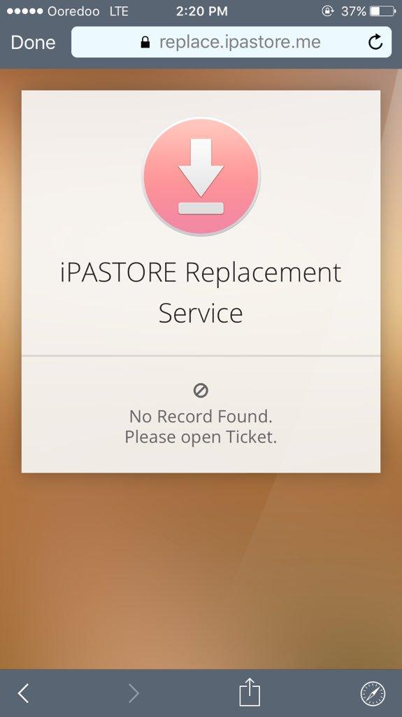 Ipastore Replacement