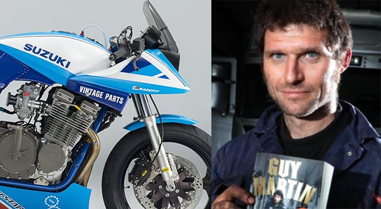 TT (and TV) star Guy Martin to ride ill-fated Suzuki Team Katana in Spa Classic 4 hour endurance  http://www. race24.com/classic-endura nce-racing/guy-martin-spa-francorchamps-4-hour-2017.html &nbsp; …  #Spa #Endurance<br>http://pic.twitter.com/Ub5i0x1UhU