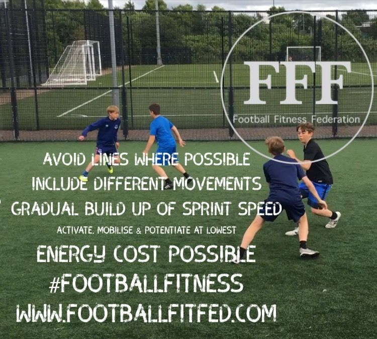 WARM UP GUIDELINES - Activate, Mobilise &amp; Potentiate at the lowest energy cost! #footballfitness #performance <br>http://pic.twitter.com/Qu4D5dT0wa