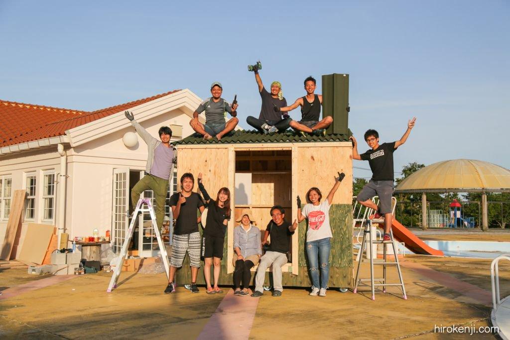 この費用でこのクオリティーってすごい!  DIYモバイルハウス!費用20万円で可動式の小屋を自作して得られたこと - なまけものの全力
