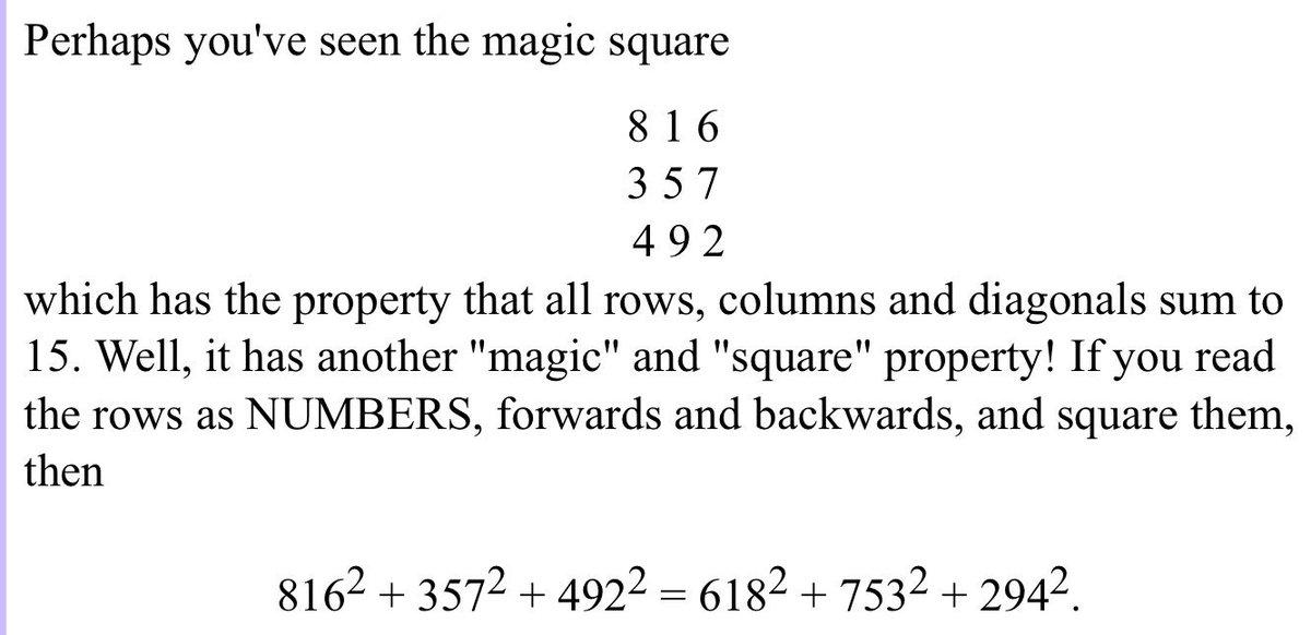 Math Fun Facts on Twitter: \