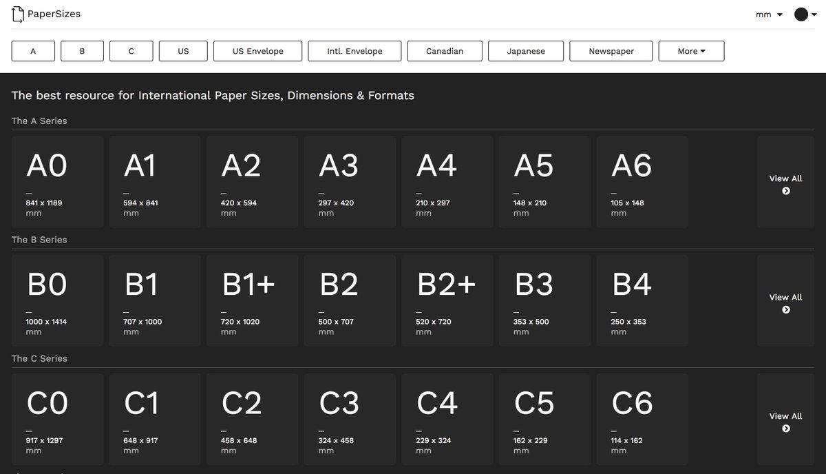 Last added   http:// papersizes.io / &nbsp;   on  http:// maracas.cool  &nbsp;   #design #ui #ux #interactive #webdesign #uxdesign #uidesign #html #css<br>http://pic.twitter.com/KWZ9BOajnI