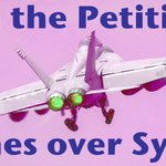 No U.S. war planes over #Syria  Sign the petition and RT. #NoWWIII https://t.co/l6N62EJEWc
