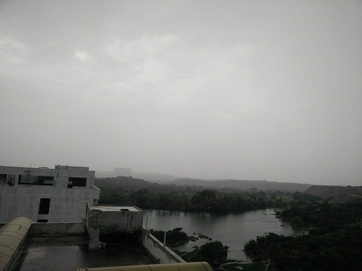 Yes its raining Having a Hot sip. while listening to melody songs.. Its an feeling to experience @WeAreHyderabad #rain #weather #Hyderabad<br>http://pic.twitter.com/wYDUB4PEO4