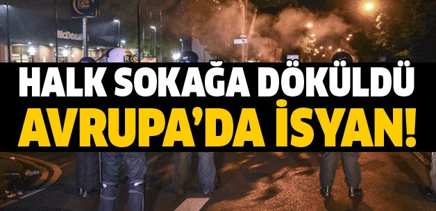 Halk sokağa döküldü... Avrupa'da isyan! https://t.co/AgeCYlgb7T https:...