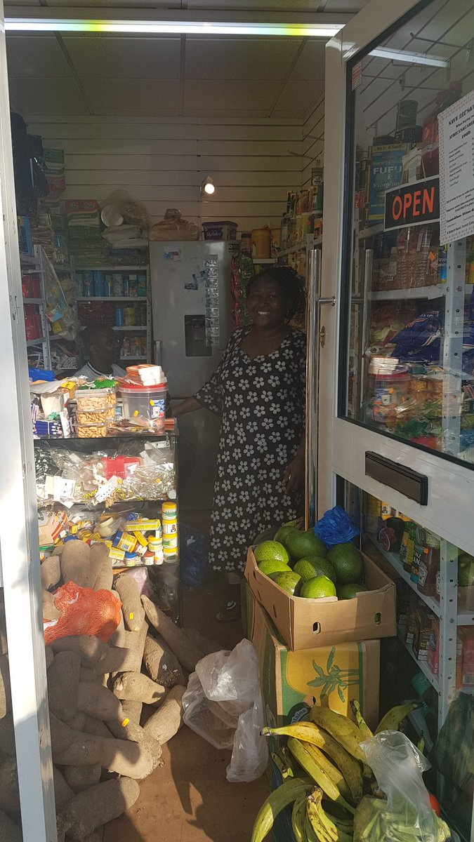 A fantastic new African &amp; Caribbean food shop has opened up in #ForestGate From Naija fanta, yam to plantain crisp. Pls support #SmallBiz <br>http://pic.twitter.com/R7C1DgPbxN