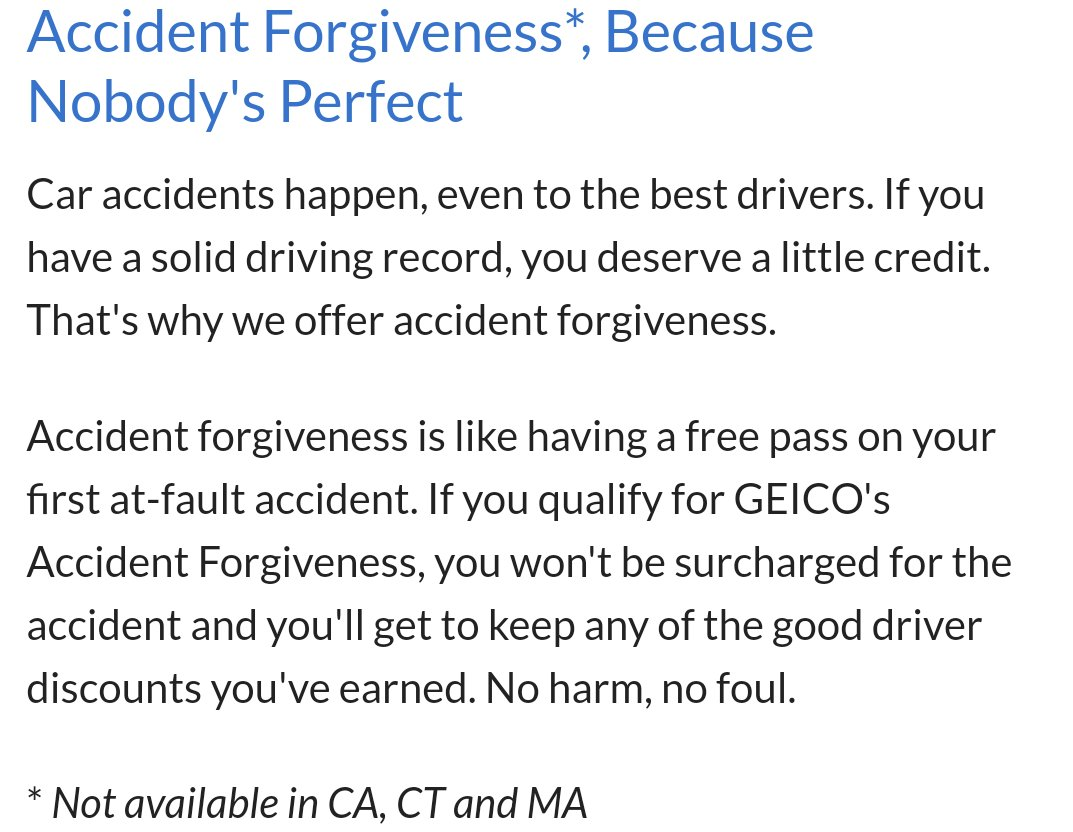 Geico Accident Forgiveness >> Jorge Rodriguez On Twitter Geico Just Told Me I Needed To Ask For