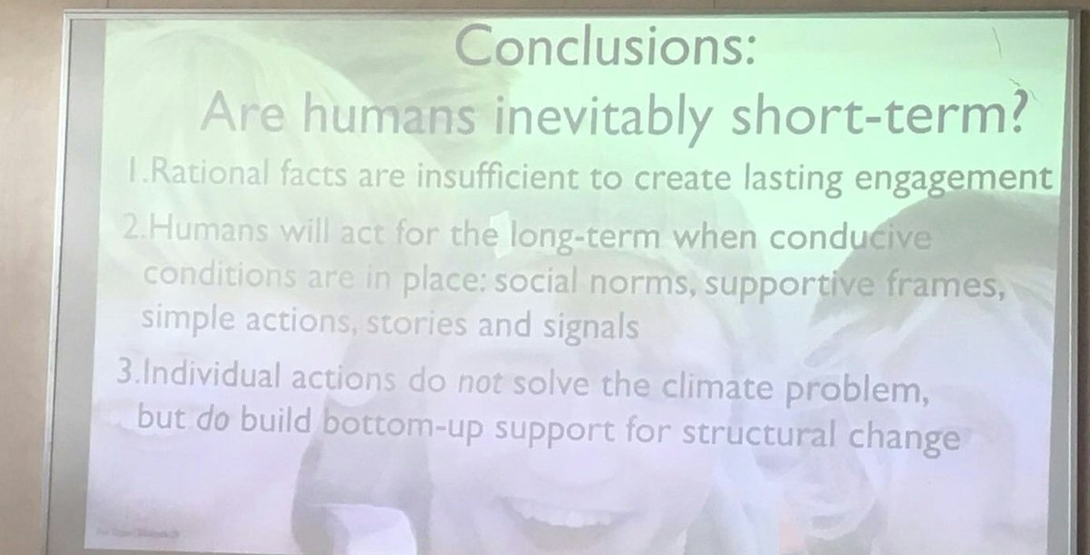 Are humans inevitably short-term? @estoknes sends us home with these powerful messages #cwbnow #weather #presenters #communication<br>http://pic.twitter.com/72OjM3J4Ah