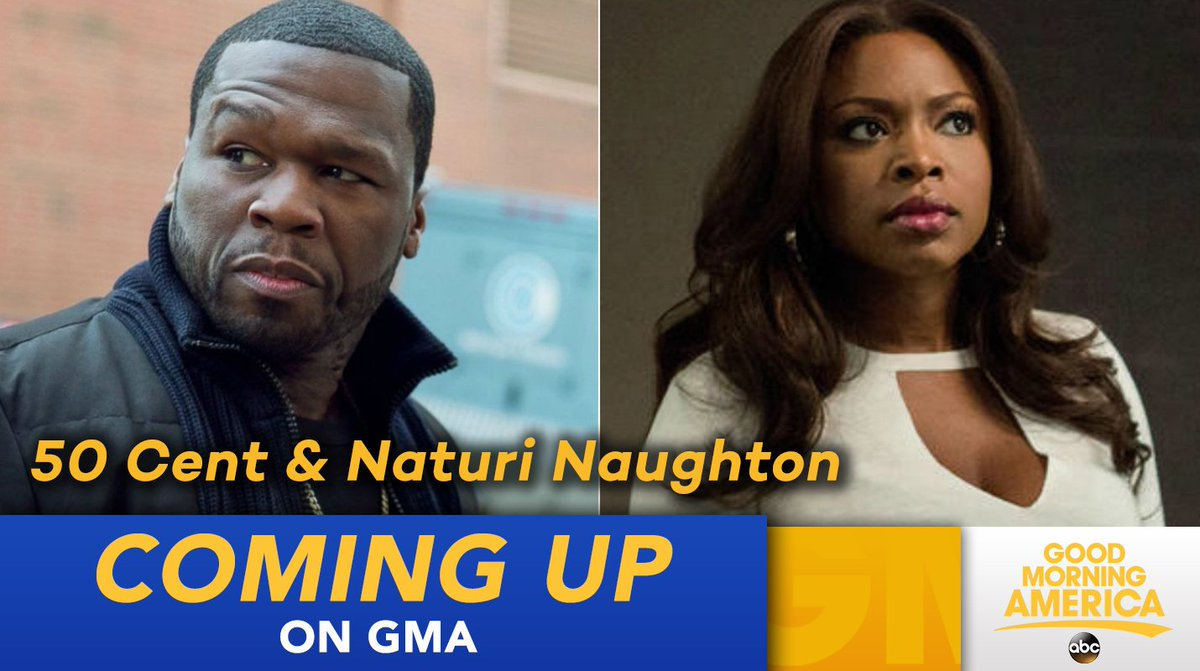 COMING UP ON @GMA: @50cent and @naturinaughton are here LIVE to talk @...
