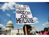 Let&#39;s call today to pressure on to put this GOP Healthcare Bill where it belongs, in the trash!  #VoteNoAHCA    Call (202)224-3121   #Resist <br>http://pic.twitter.com/5dNdaAAV0a