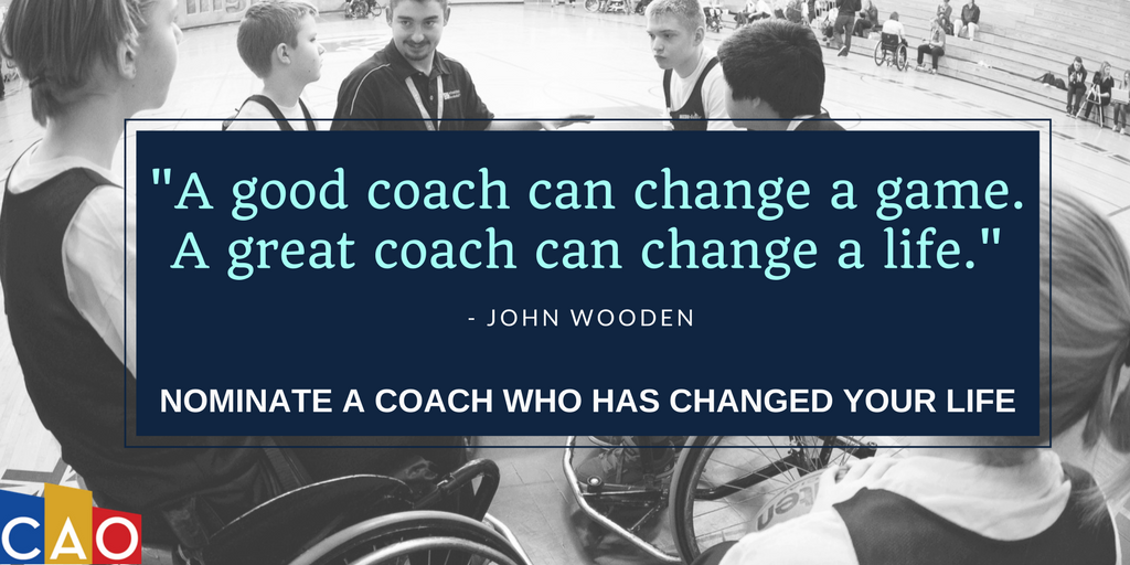 Nominate a great #coach who has changed your life &amp; the lives of people in the community – Nominations end June 29!  http://www. coachesontario.ca/awards  &nbsp;  <br>http://pic.twitter.com/IVugdGux9d