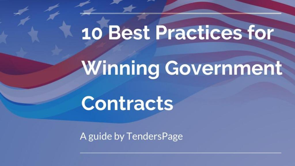 10 best practices for winning Government contract jobs  http:// buff.ly/2tLOOeo  &nbsp;   by @tenderspage #fedbizopps #businessstrategy <br>http://pic.twitter.com/vhwcyIExMu