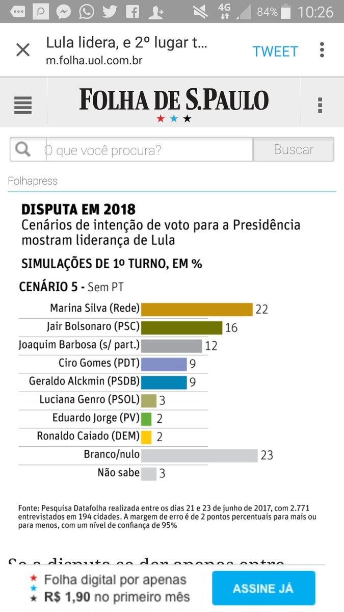 Se Moro tirar Lula no tapetão, a esquerda não deve vacilar: Ciro tem o maior potencial (Haddad é candidato dos Jardins e Vila Madalena).