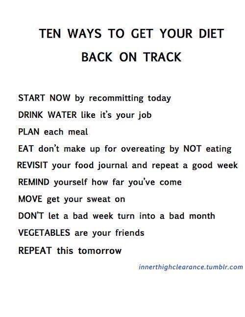 Get Back On Track. #MondayMotivation #Daily #Motivation #NewWeek #NewGoals #Health #Fitness #Happiness #Wellness #FitFam #Fit #Gym #Diet<br>http://pic.twitter.com/wFIvSeRVUX