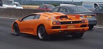 Clive Upright On Twitter Lovely Orange Lamborghini Diablo Sv