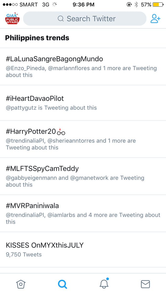 Trending na tayo at 2nd spot, mga Kapuso! #iHeartDavaoPilot ❤️ https:/...