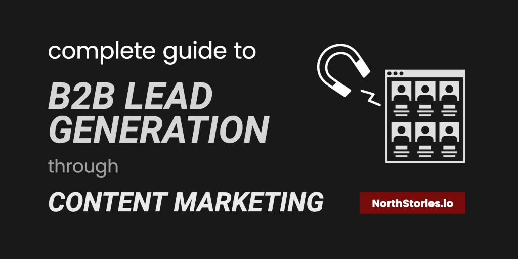 Complete Guide to B2B #LeadGeneration Through #ContentMarketing. #inboundmarketing:  http:// buff.ly/2tcBGly  &nbsp;  <br>http://pic.twitter.com/dwr8wimB4I