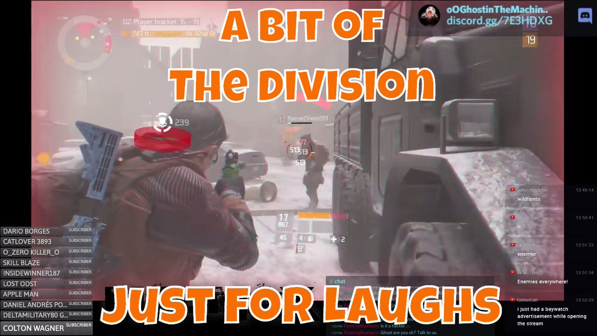 #TheDivision Level 19 #Live in 5 on #Youtube  https:// goo.gl/zQ0dSc  &nbsp;    @SupStreamers @Small_Streamers @Pulse_Rts @HyperRTs @YTRetweets<br>http://pic.twitter.com/rnUeXUrpPw