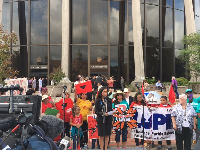 """""""We are in a fight for the soul of our state. We are in a fight for the soul of our nation."""" @astridalheli #SB4isHate https://t.co/MhrDThz6Bz"""