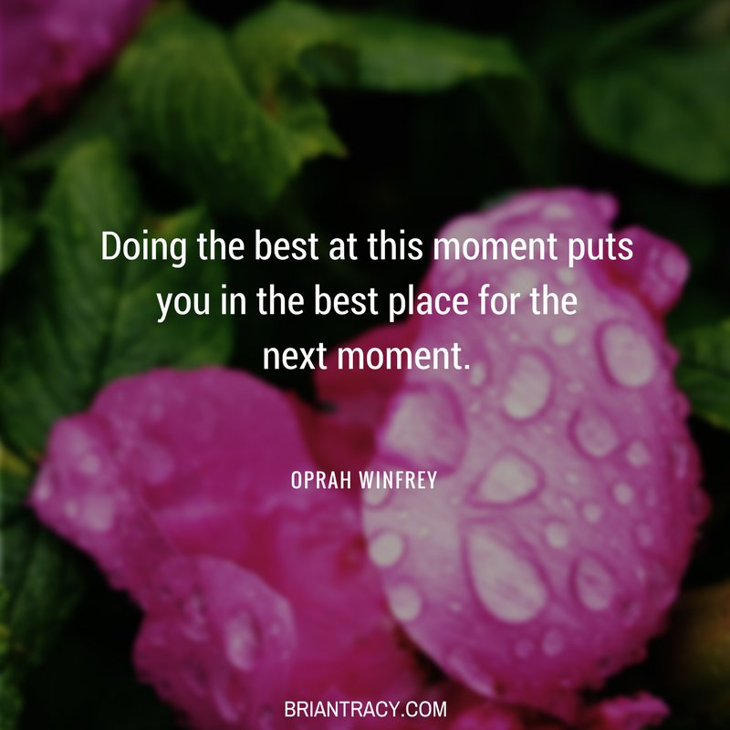 Every moment sets you up for the #future. Always apply yourself fully. @Oprah #success<br>http://pic.twitter.com/0nptTFZy3r