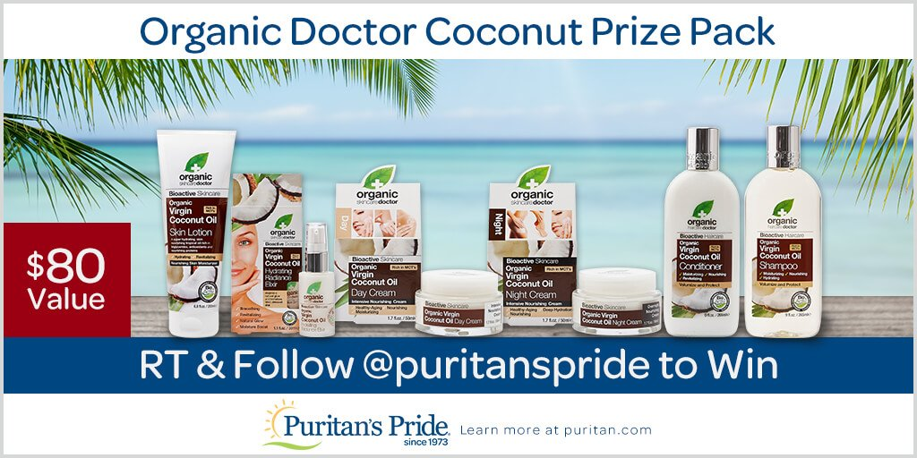 #GIVEAWAY: RT &amp; follow us for a chance to #win an Organic Doctor #Coconut #Prize Pack:  http:// bit.ly/orgdoccoconut  &nbsp;   #skincare #beauty #bbloggers <br>http://pic.twitter.com/X3OLtEG24A