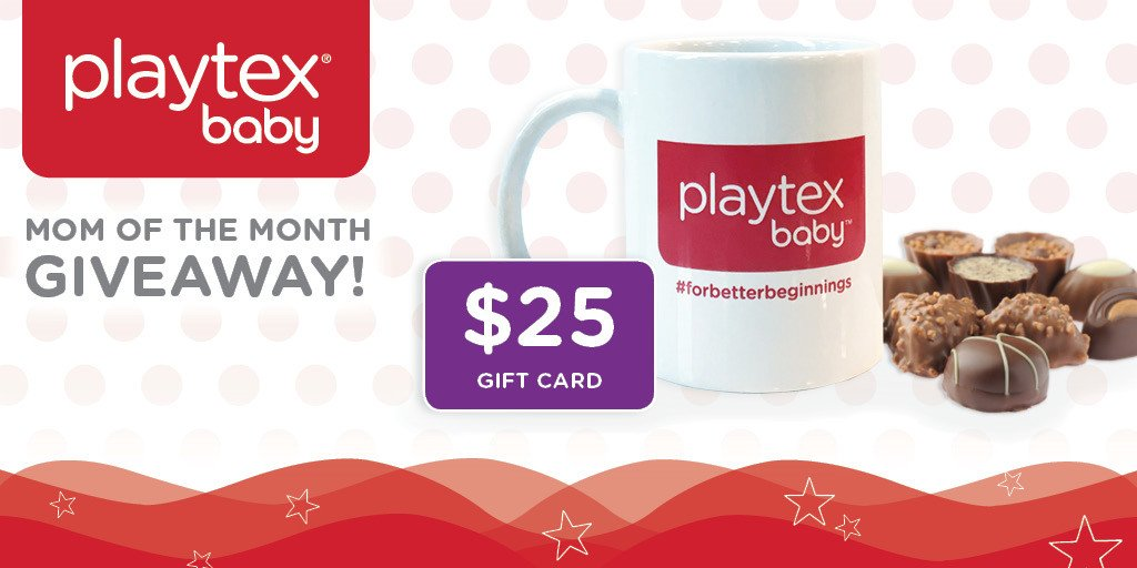 #GIVEAWAY! Follow @PlaytexBaby & RT for a chance to #WIN! Rules: https://t.co/t8xnLRGJum #MomOfTheMonth https://t.co/MTHRXTXlpw