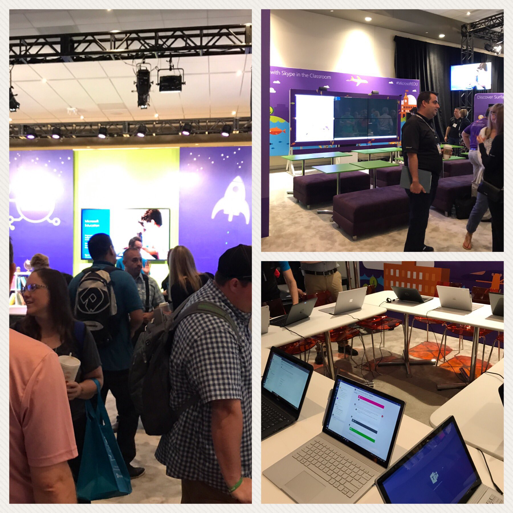 Checking out the Microsoft Experience. #ISTE17 #fcpsiste @fcpsoit https://t.co/eHnBrFyihv